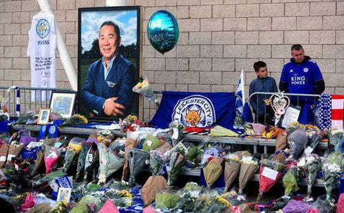 Leicester tổ chức lễ vinh danh với cố Chủ tịch vừa qua đời