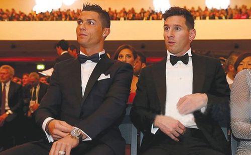 Messi và Ronaldo bị