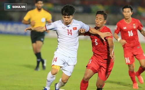 Công Phượng liên tục xuất hiện trong đội hình xuất sắc nhất vòng bảng AFF Cup 2018