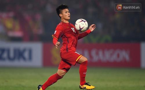 Quang Hải đứng dưới 1 người trong danh sách những chân chuyền tốt nhất AFF Cup 2018