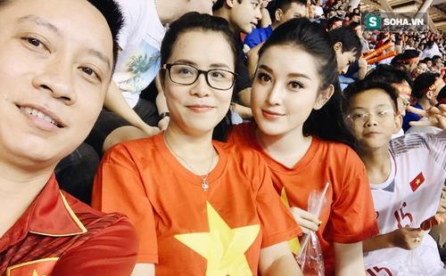 Bất chấp cái dớp thua Malaysia năm 2014, Á hậu Huyền My tin Việt Nam vô địch...
