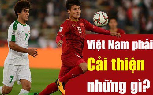Những con số đáng báo động ở vị trí của Xuân Trường, Quang Hải trước trận Việt Nam - Iran