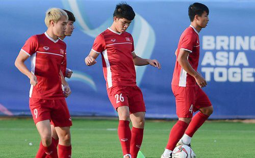 Đội tuyển Việt Nam không được tập thử sân chính trước trận gặp Jordan