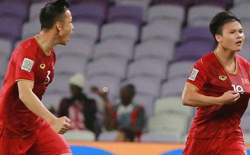 5 cầu thủ Việt Nam chuyền bóng nhiều nhất ở vòng bảng Asian Cup 2019