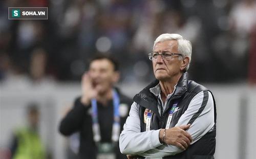 HLV Lippi chia tay đội tuyển Trung Quốc sau thất bại tan tác trước Iran
