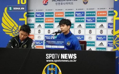 """HLV Incheon United: """"Tôi không quan tâm những vấn đề liên quan tới Công Phượng"""""""