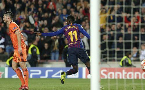 Barcelona trả giá đắt cho tấm vé tứ kết Champions League