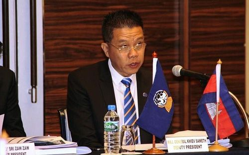 Tướng Campuchia làm chủ tịch LĐBĐ Đông Nam Á