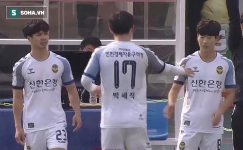 Điều đáng mừng cho Công Phượng ẩn sau trận đấu không được đăng ký ở Incheon?