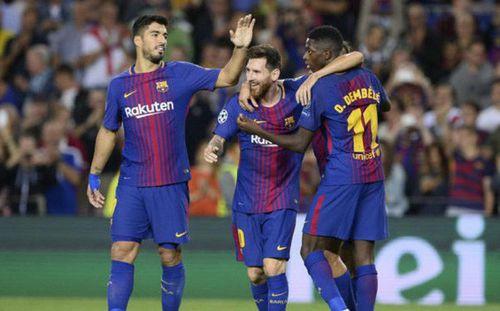Dembele trở lại, Barca như