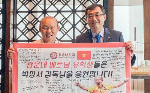 HLV Park Hang-seo bất ngờ thành… giáo sư danh dự tại Đại học của Hàn Quốc
