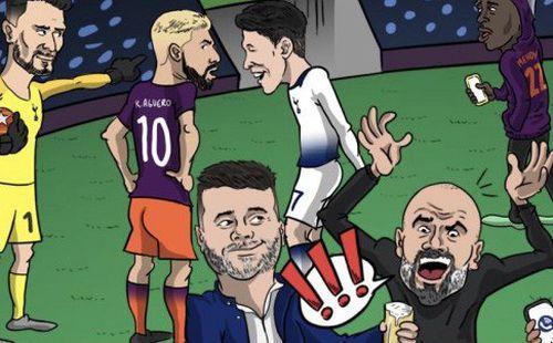 Cư dân mạng chế ảnh HLV Pep Guardiola chê Champions League