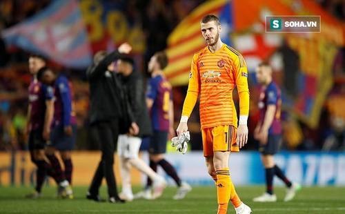 """De Gea bị báo Anh đánh giá là """"thảm họa"""" vì để Messi chọc thủng lưới theo cách ngớ ngẩn"""