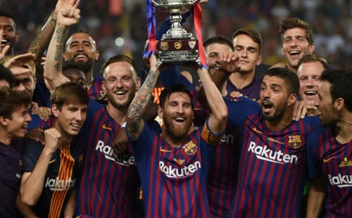 Đội hình đắt giá nhất thế giới gọi tên Barca