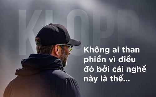 Dẫu thất bại, Klopp vẫn là nhà vô địch đích thực của Liverpool