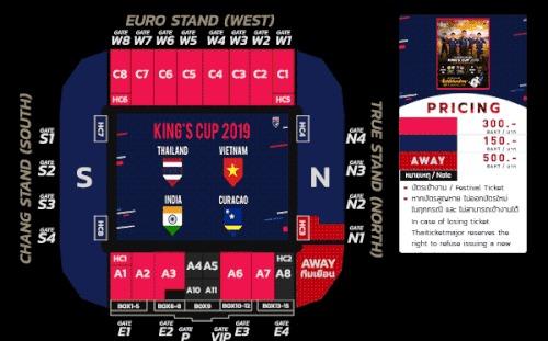 Thái Lan 'chơi xấu' khi bán vé King's Cup, giá cao gấp đôi cho CĐV Việt Nam
