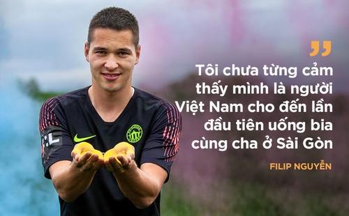 Thủ môn Filip Nguyễn: Giống Lâm