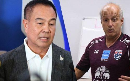 HLV U23 Thái Lan xin từ chức, Chủ tịch FAT lên tiếng