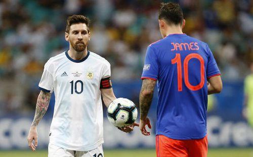 Messi không ra sân tập sau trận thua Colombia