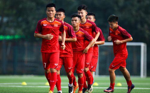 U18 Việt Nam lâm thế