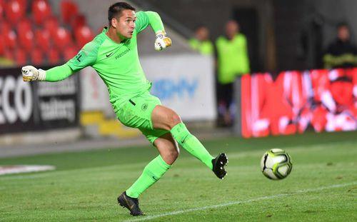 Thi đấu xuất sắc, thủ môn Filip Nguyễn được khen ngợi