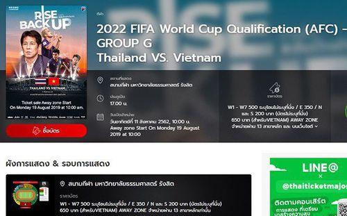 CĐV than trời vì vé xem trận Thái Lan-Việt Nam bán hết trong... 5 phút