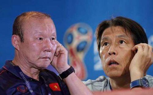 HLV Park Hang Seo từng bại trận trước tân HLV Thái Lan