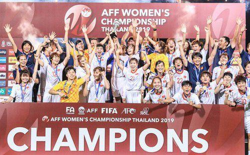 Vô địch Đông Nam Á, tuyển nữ Việt Nam nhận 1,3 tỷ đồng tiền thưởng