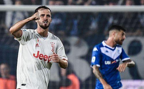 Vắng Ronaldo, Juventus lên đỉnh nhờ tuyệt phẩm của Pjanic