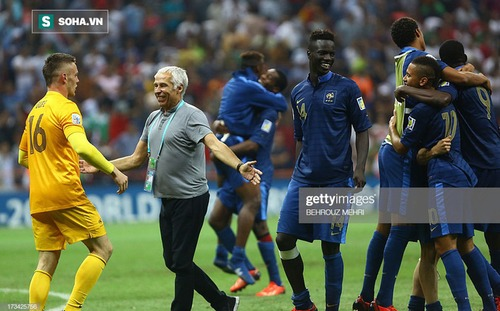 HLV Park Hang-seo có thể đối đầu HLV từng đưa Pháp vô địch U20 World Cup, là thầy cũ của Pogba
