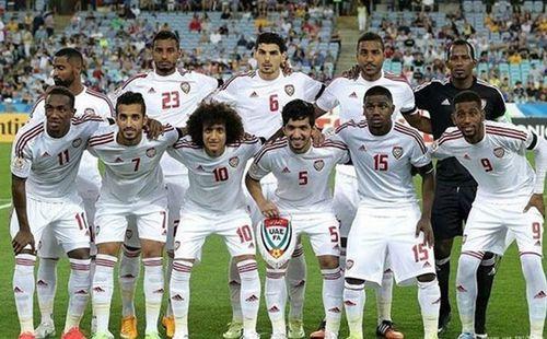 Đội hình UAE sang Việt Nam