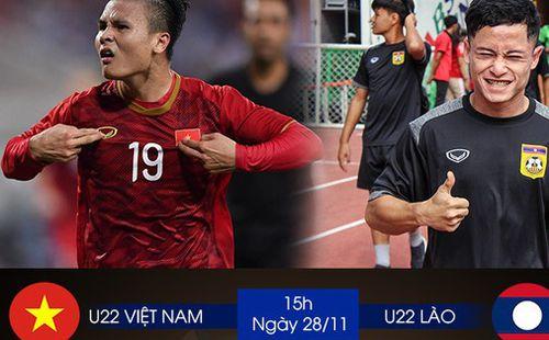 Nhận định U22 Việt Nam vs U22 Lào: Không sợ đối thủ mạnh, chỉ sợ quân mình... chấn thương