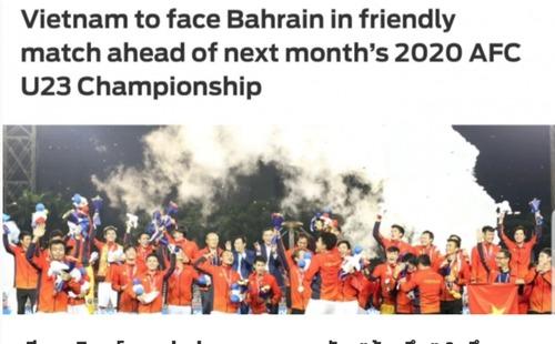Báo Thái vui mừng khi đội nhà được U23 Việt Nam 'trợ giúp' ở giải châu Á