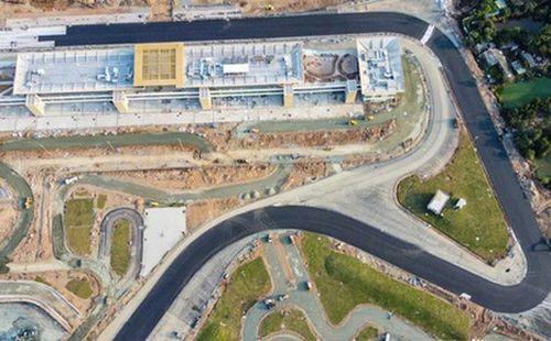 Toàn cảnh hình hài đường đua F1 Việt Nam đang hoàn thiện