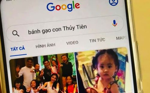 Con gái Bánh Gạo khiến Công Vinh - Thuỷ Tiên cười ngất vì tự tìm chính mình trên Google