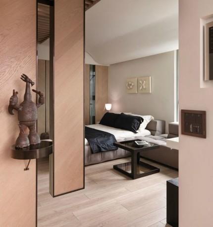 Bài trí nội thất tiện nghi cho căn hộ 21 m² 9