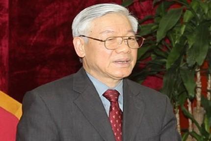Tổng Bí thư điện đàm cùng Chủ tịch Trung Quốc 1