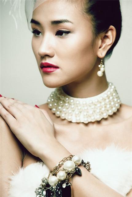 Maya: Từ người mẫu 'bưng mâm' thành ngôi sao mới 6