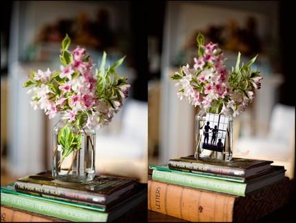 2 cách làm bình hoa đẹp xinh từ lọ thủy tinh cũ 1