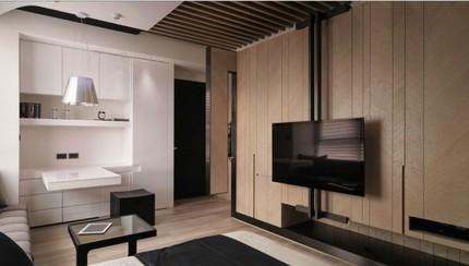 Bài trí nội thất tiện nghi cho căn hộ 21 m² 4