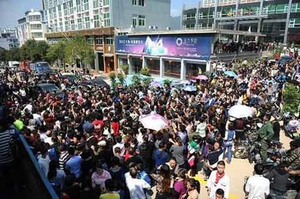 """3 đám cưới đồng tính gây """"náo loạn"""" Trung Quốc 16"""