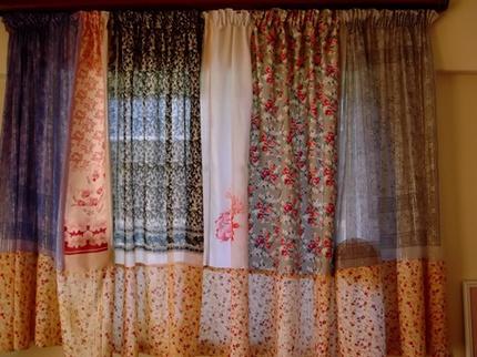 Biến khăn quàng cũ thành đồ trang trí đẹp 6