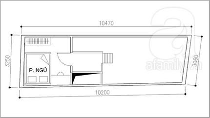 Bài trí nội thất tiện nghi cho nhà 32 m²  2