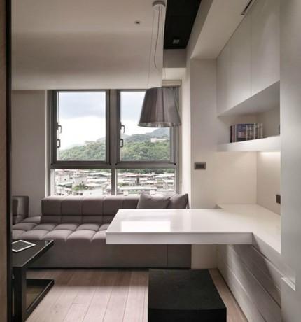 Bài trí nội thất tiện nghi cho căn hộ 21 m² 3