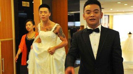 """3 đám cưới đồng tính gây """"náo loạn"""" Trung Quốc 12"""
