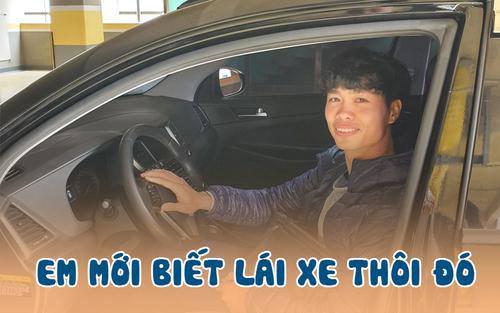 Công Phượng kể về trải nghiệm lái xe tại Hàn Quốc: Tôi phải treo biển